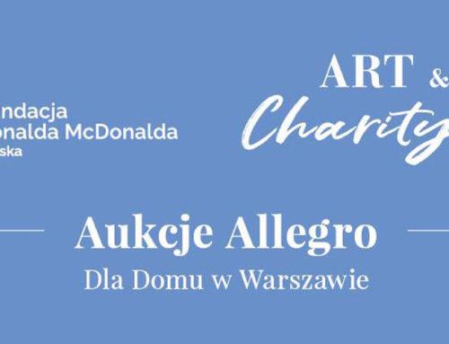 Aukcje Allegro dla Domu Ronalda McDonalda w Warszawie