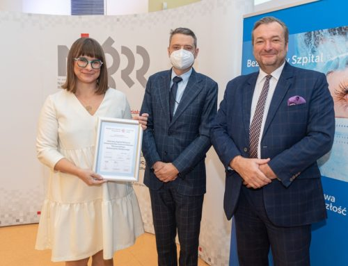 """Dziecięcy Szpital Kliniczny UCK WUM trzykrotnie nagrodzony w programie """"Bezpieczny Szpital Przyszłości"""""""